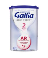 Gallia Bebe Expert Ar 2 Lait En Poudre B/800g à MARSEILLE