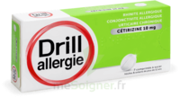 DRILL 10 mg Comprimés à sucer allergie cétirizine Plq/7 à MARSEILLE