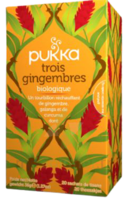 Pukka Trois Gingembres Bio 20 Sachets à MARSEILLE