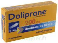 Doliprane 200 Mg Suppositoires 2plq/5 (10) à MARSEILLE
