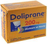 Doliprane 200 Mg Poudre Pour Solution Buvable En Sachet-dose B/12 à MARSEILLE