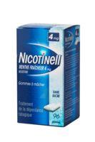 NICOTINELL MENTHE FRAICHEUR 4 mg SANS SUCRE, gomme à mâcher médicamenteuse 8Plq/12 à MARSEILLE