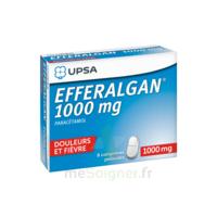 Efferalgan 1000 mg Comprimés pelliculés Plq/8 à MARSEILLE