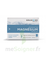 GRANIONS DE MAGNESIUM 3,82 mg/2 ml S buv 30Amp/2ml à MARSEILLE