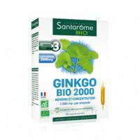 Santarome Bio Ginkgo 2000 Solution buvable 20 Ampoules/10ml à MARSEILLE