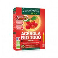 Santarome Bio Acérola 1000 Solution buvable 20 Ampoules/10ml à MARSEILLE
