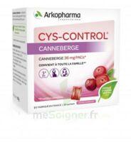 Cys-control 36mg Poudre Orale 20 Sachets/4g à MARSEILLE