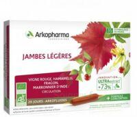 Arkofluide Bio Ultraextract Solution buvable jambes légères 20 Ampoules/10ml à MARSEILLE