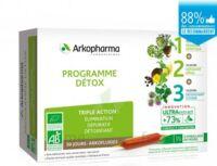 Arkofluide Bio Ultraextract Coffret programme détox 3x10 Ampoules/10ml à MARSEILLE