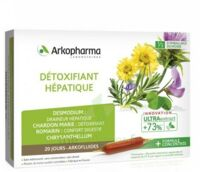 Arkofluide Bio Ultraextract Solution buvable détoxifiant hépatique 20 Ampoules/10ml à MARSEILLE