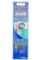 BROSSETTE DE RECHANGE ORAL-B PRECISION CLEAN x 3 à MARSEILLE