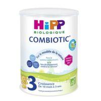 Hipp Lait 3 Combiotic® (nouvelle Formule Dha) Bio 800g à MARSEILLE
