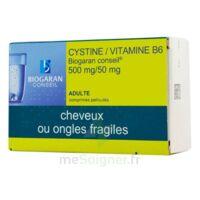 CYSTINE/VITAMINE B6 BIOGARAN CONSEIL 500 mg/50 mg Cpr pell Plq/120 à MARSEILLE