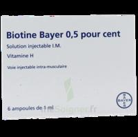 BIOTINE BAYER 0,5 POUR CENT, solution injectable I.M. à MARSEILLE