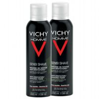VICHY mousse à raser peau sensible LOT à MARSEILLE