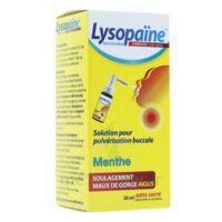 LYSOPAÏNE AMBROXOL 17,86 mg/ml Solution pour pulvérisation buccale maux de gorge sans sucre menthe Fl/20ml à MARSEILLE
