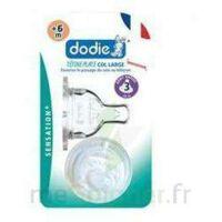 DODIE SENSATION+ Tétine plate débit 2 silicone 0-6mois à MARSEILLE