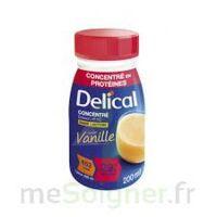 DELICAL BOISSON HP HC CONCENTREE Nutriment vanille 4Bouteilles/200ml à MARSEILLE