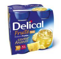DELICAL BOISSON FRUITEE Nutriment ananas 4Bouteilles/200ml à MARSEILLE
