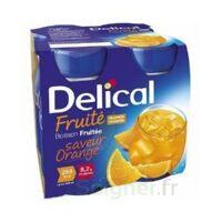 DELICAL BOISSON FRUITEE Nutriment orange 4Bouteilles/200ml à MARSEILLE