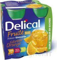 DELICAL BOISSON FRUITEE Nutriment édulcoré orange 4Bouteilles/200ml à MARSEILLE