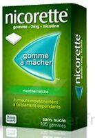 Nicorette 2 Mg Gom à Mâcher Médic Sans Sucre Menthe Fraîche Plq/30gom à MARSEILLE