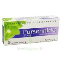 PURSENNIDE 20 mg, comprimé enrobé à MARSEILLE