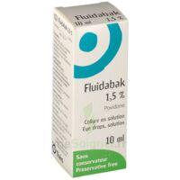 Fluidabak 1,5 %, Collyre En Solution à MARSEILLE