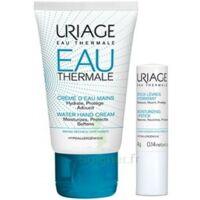 Uriage Eau Thermale Crème d'eau mains T/30ml+Stick lèvres à MARSEILLE