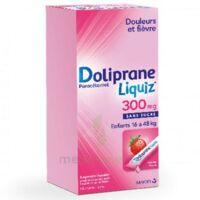 Dolipraneliquiz 300 mg Suspension buvable en sachet sans sucre édulcorée au maltitol liquide et au sorbitol B/12 à MARSEILLE