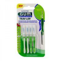 GUM TRAV - LER, 1,1 mm, manche vert , blister 4 à MARSEILLE