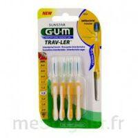 GUM TRAV - LER, 1,3 mm, manche jaune , blister 4 à MARSEILLE
