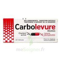 CARBOLEVURE Gélules adulte Plq/30 à MARSEILLE