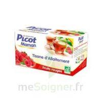 Picot Maman Tisane D'allaitement Fruits Rouges 20 Sachets à MARSEILLE
