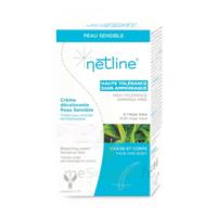 Netline Crème visage/corps décolorante peau sensible 30+30ml à MARSEILLE