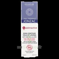 Jonzac Eau Thermale Sublimactive Crème Soin Contour Yeux Lèvres Jeunesse Immédiate 15ml à MARSEILLE