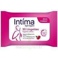 Intima Gyn'Expert Lingettes Cranberry Paquet/30 à MARSEILLE