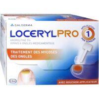 Locerylpro 5 % V Ongles Médicamenteux Fl/2,5ml+spatule+30 Limes+lingettes à MARSEILLE
