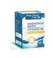 Nat&Form Expert Magnésium+Vitamine B6 Gélules B/40 à MARSEILLE