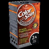COLOR&SOIN Kit coloration permanente 2A brun azuré à MARSEILLE