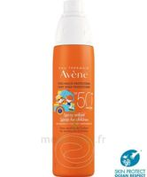 Avène Eau Thermale Solaire Spray Enfant 50+ 200ml à MARSEILLE