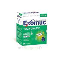Exomuc 200 Mg, Granulés Pour Usage Oral En Sachet 15 Sachets/2g à MARSEILLE