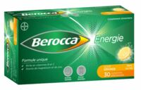 BEROCCA ENERGIE Comprimés effervescents orange B/30 à MARSEILLE
