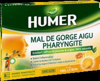 Humer Pharyngite Pastille mal de gorge Miel citron B/20 à MARSEILLE